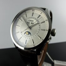Oris Artix Complication Steel 42mm Silver No numerals