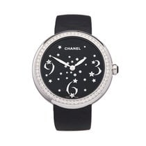 Chanel Or blanc 38mm Quartz H3097 occasion