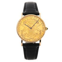 Corum Coin Watch pre-owned 36mm Yellow gold