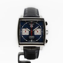 TAG Heuer Monaco Calibre 12 Staal 39mm