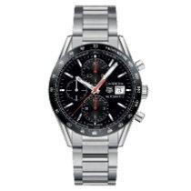 TAG Heuer Carrera Calibre 16 new Automatic Chronograph Watch with original box and original papers CV201AK.BA0727