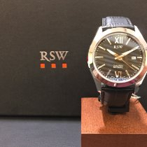 RSW Steel 42mm Automatic 7240.BS.L1.1.00 new