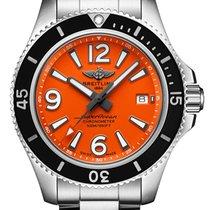 Breitling Superocean 42 Steel 42,00mm Orange Arabic numerals