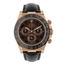 Rolex Daytona Rose gold 40mm Brown Arabic numerals