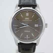 IWC Ingenieur Automatic pre-owned 42mm Brown Date Crocodile skin