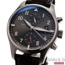 IWC Pilot Spitfire Chronograph Otel 43mm Gri Arabic