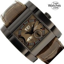 De Grisogono Rose gold Automatic Brown Arabic numerals 40mm new Instrumentino