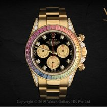 Rolex Daytona 116598 RBOW Very good Yellow gold 40mm Automatic Singapore, Singapore