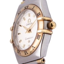 Omega Constellation Ladies Gold/Steel 23mm Silver No numerals Singapore, Singapore