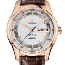 Omega De Ville Hour Vision Красное золото 41mm Cеребро