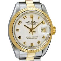 Rolex Lady-Datejust 26mm Blanc Arabes