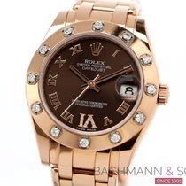 Rolex Lady-Datejust Pearlmaster 81315 2012 rabljen