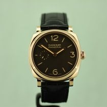 Panerai Radiomir 1940 Or rose 42mm Brun