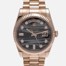 Rolex Or rose Remontage automatique 36mm occasion Day-Date 36
