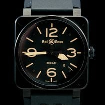Bell & Ross BR 03 Steel 42mm Black Arabic numerals