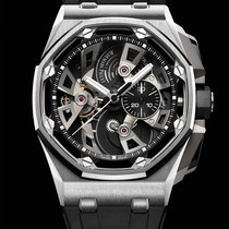 Audemars Piguet Royal Oak Offshore Tourbillon Chronograph Steel Black