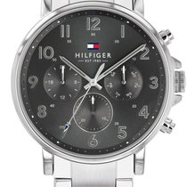 Tommy Hilfiger Steel 45.9mm Quartz 1710382 new