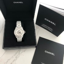 Chanel occasion Remontage automatique 38mm Blanc
