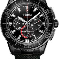 Zenith El Primero Stratos Flyback 51mm Black United States of America, New York, Brooklyn