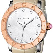 Bulgari Bulgari Gold/Steel Mother of pearl United States of America, New York, Brooklyn
