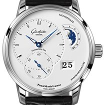 Glashütte Original PanoMaticLunar Steel 40mm Silver United States of America, New York, Airmont