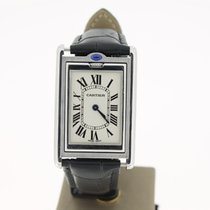 Cartier Basculante Manual Winding steel (BOX2001) MINT 25mm