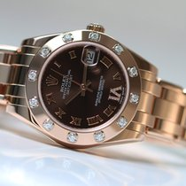 Rolex Oyster Perpetual Pearlmaster everose 34 full set