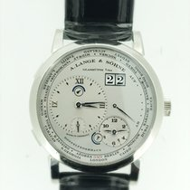 A. Lange & Söhne Lange 1 One Time Zone World Time Platinum