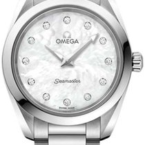 Omega Seamaster Aqua Terra Steel 28mm Mother of pearl United States of America, New York, Airmont