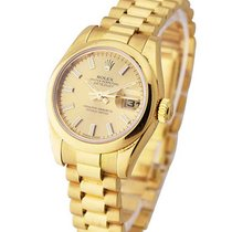 Rolex Used 179168 26mm President with Domed Bezel - Yellow...