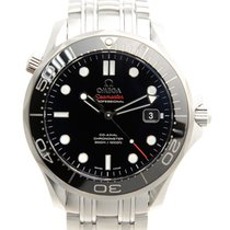 歐米茄 (Omega) Seamaster Stainless Steel Black Automatic 212.30.4...