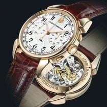 Cuervo y Sobrinos Rose gold Manual winding new Historiador
