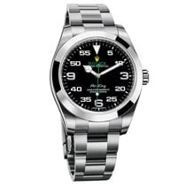 Rolex Oyster Perpetual Air-king Black Dial - 116900