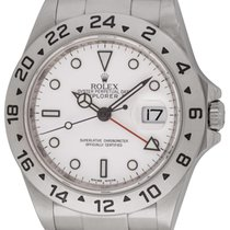 Rolex : Explorer II '3186' :  16570 :  Stainless Steel : white...