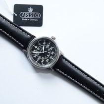 Aristo Titanium 38,5mm Quartz 5H97 Pilot new