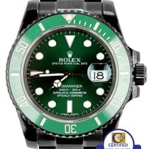 Rolex Submariner Date 40mm Zielony