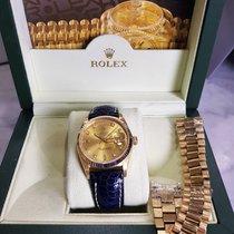 롤렉스Day-Date,중고시계,정품 박스 있음, 서류 원본 없음,36 mm,옐로우골드
