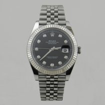Rolex Datejust 9/2017 Papers Diamond Dial 126334
