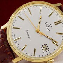 Omega Genve Gold Watch 18K from 1975