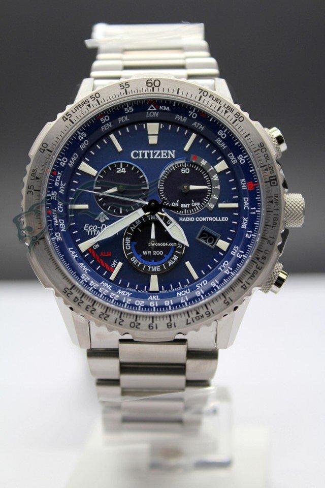 Citizen CB5010-81L Crono Pilot Super Titanio Radiocontrollato for  597 for  sale from a Seller on Chrono24 f42af612c3