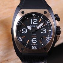 Bell & Ross BR 02 Gold/Steel 44mm Black Arabic numerals
