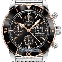 Breitling Superocean Héritage Chronograph Gold/Steel 44mm Black United States of America, New York, Airmont