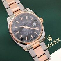 Rolex Datejust 36 mm Ouro Rose & Aço Completo Novissimo