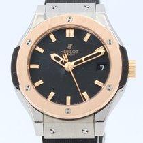 Hublot Classic Fusion Quartz Rose gold 33mm Black No numerals