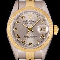 Rolex Lady-Datejust Gold/Steel 26mm Grey Roman numerals United Kingdom, London