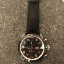 Oris Calobra pre-owned 44mm Black Chronograph