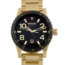 Nixon Steel 45mm Quartz A277-513 new