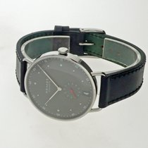 NOMOS Metro 38 Datum Steel 38,5mm Black