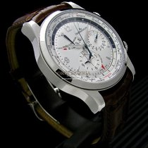 Jaeger-LeCoultre Master World Geographic Steel Silver No numerals
