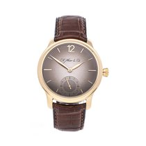 H.Moser & Cie. Rose gold 38mm Manual winding 1321-0109 pre-owned